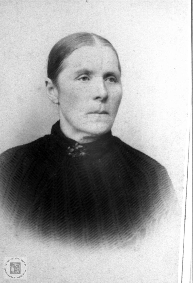Portrett av Tarjer Fidjestøl, Øyslebø.
