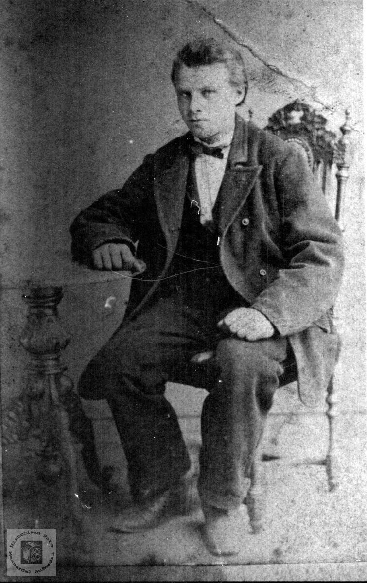 Portrett av Torstein Fladaas, Øyslebø.
