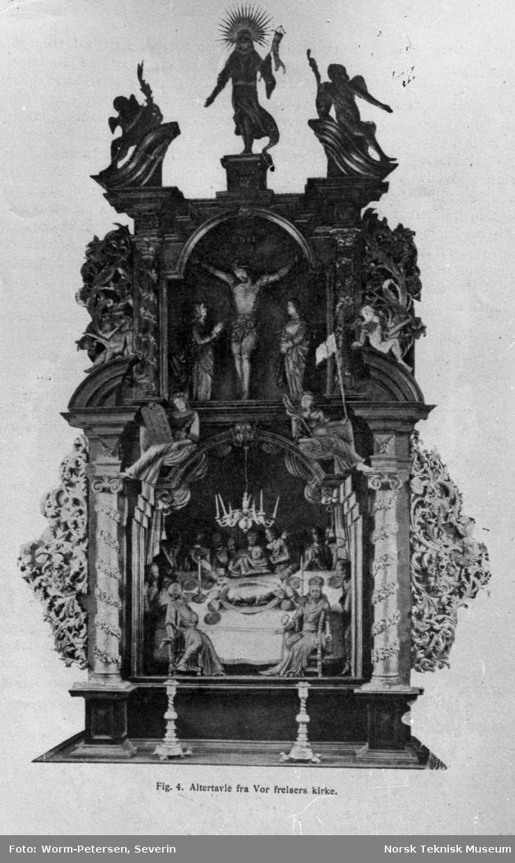 Gamle Christiania, gammel altertavle fra Vår Frelsers kirke (Oslo domkirke)