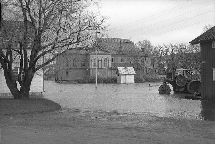 Översvämning i Teaterplantaget, Uddevalla