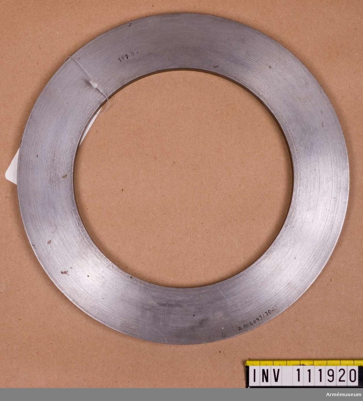 Schamplunring för granat m/1864