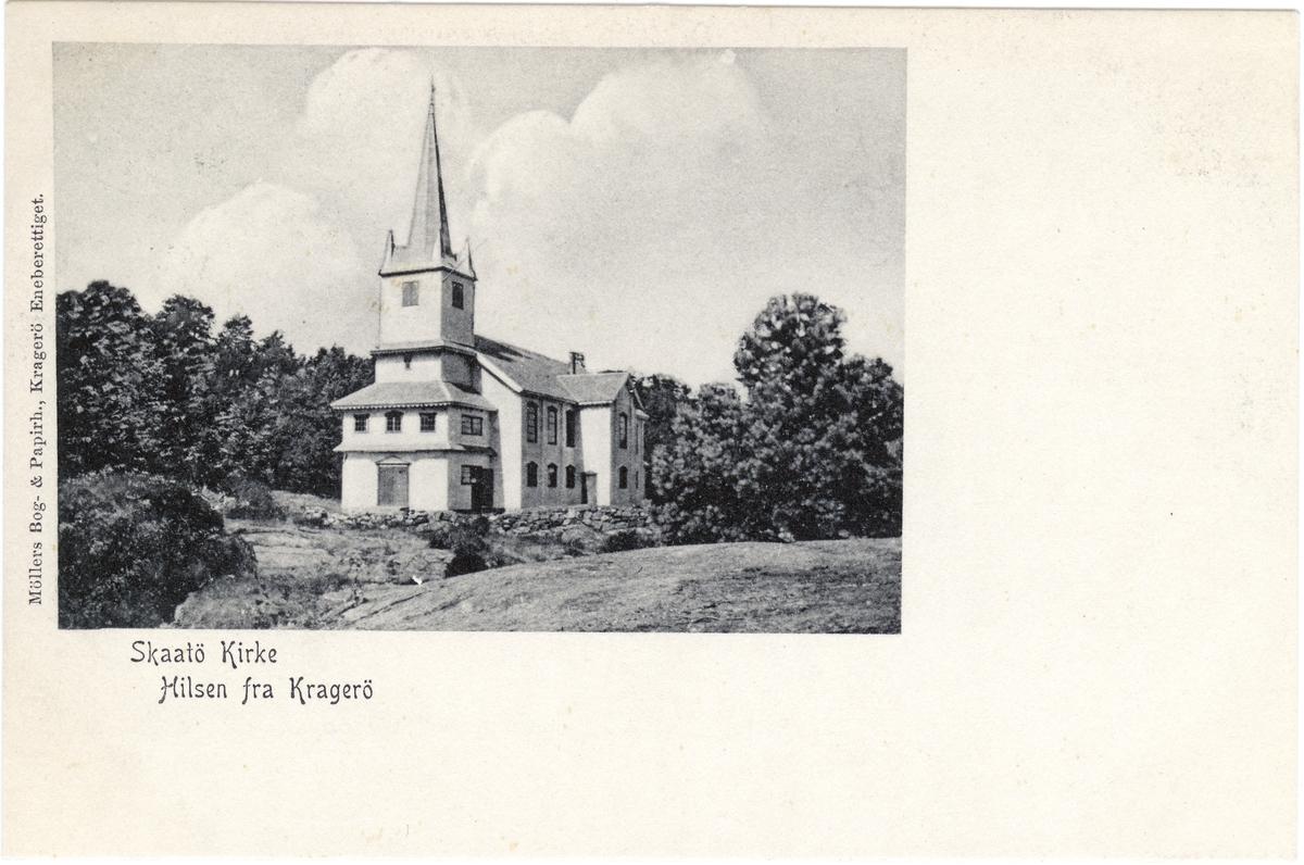 Skåtøy kirke ble innviet 5.september 1862