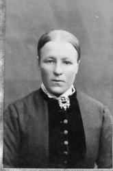 Barbo S. Lien (1865-1921), gift Flaten.