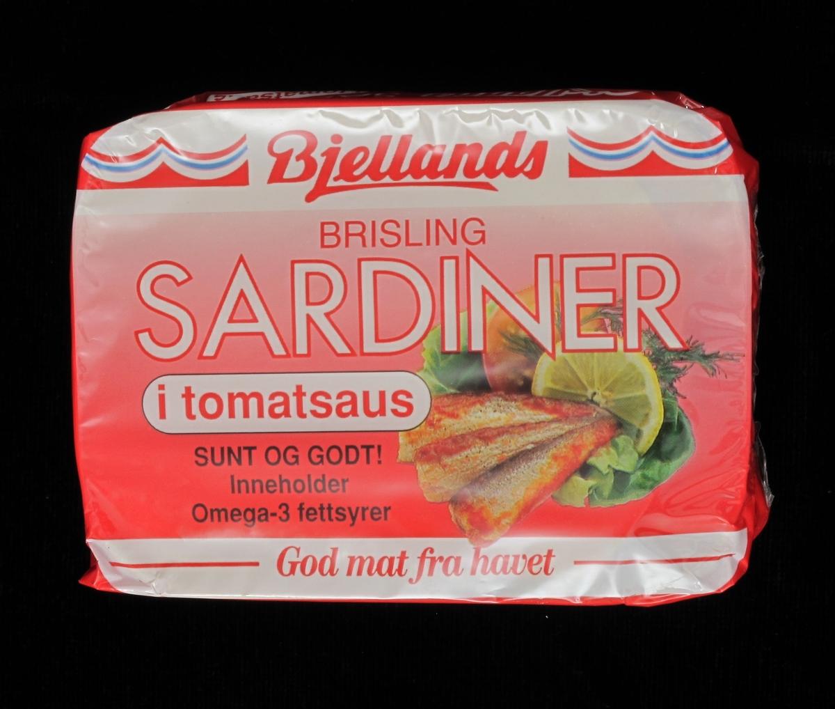 Sardiner og sitron, salat .