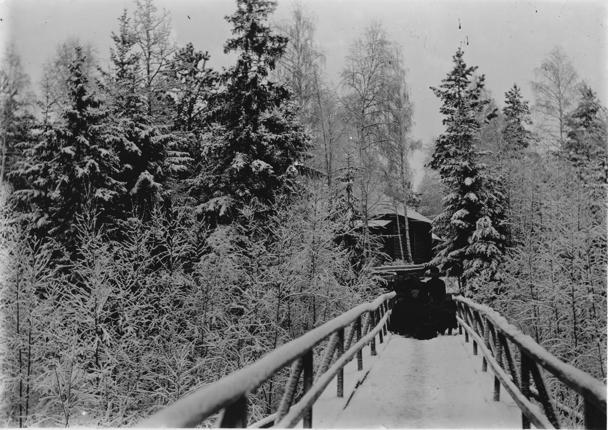 Dodino Masugn. Bron till ingenjörsbostaden.