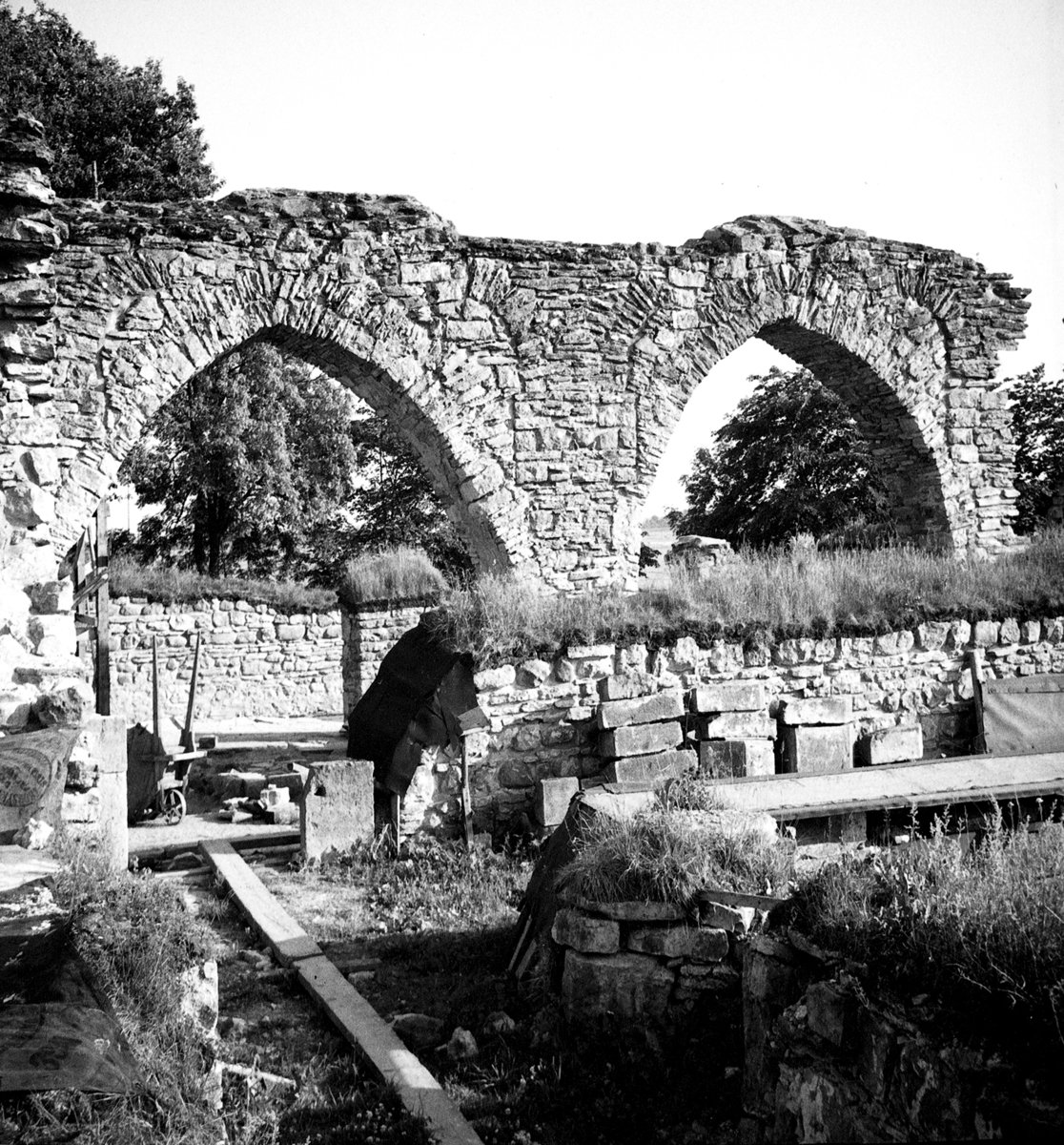 Gudhems klosterruin.