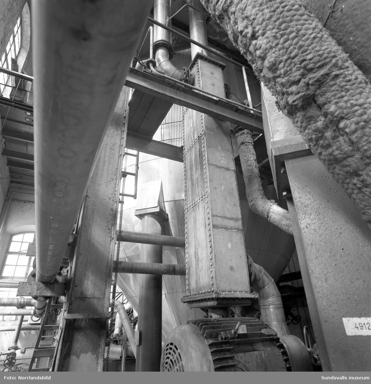Svartviks fabrik, interiörbilder, detaljer.