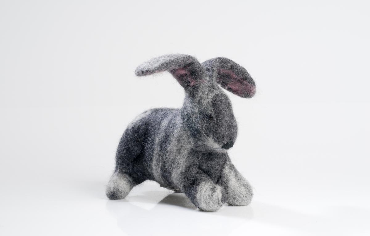 Tovet kanin figur