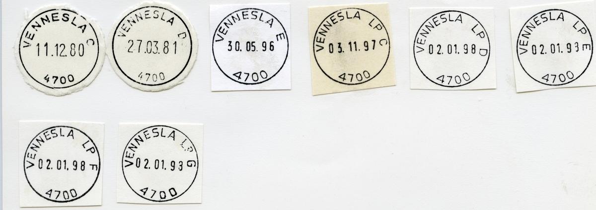 4700 Vennesla (Veknesland, Vikeland), Vennesla, Vest-Agder