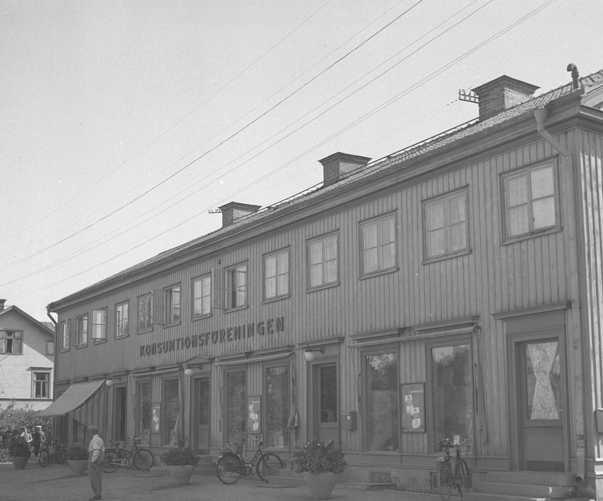 Konsumbutik i Bomhus, Gävle.