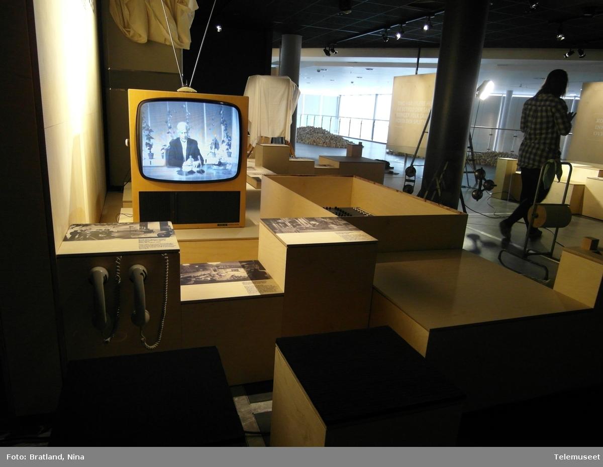 TING - teknologi og demokrati, Telemuseet i samarbeid med Norsk Teknisk Museum om jubileumsutstilling