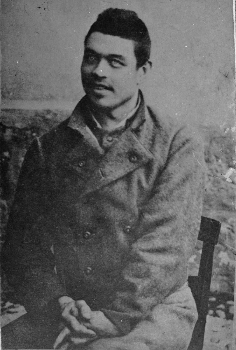 Per Johan Pettersson, avrättad 17/3 1893, för delaktighet i de s.k. Mossbomorden eller Alftadramat.
