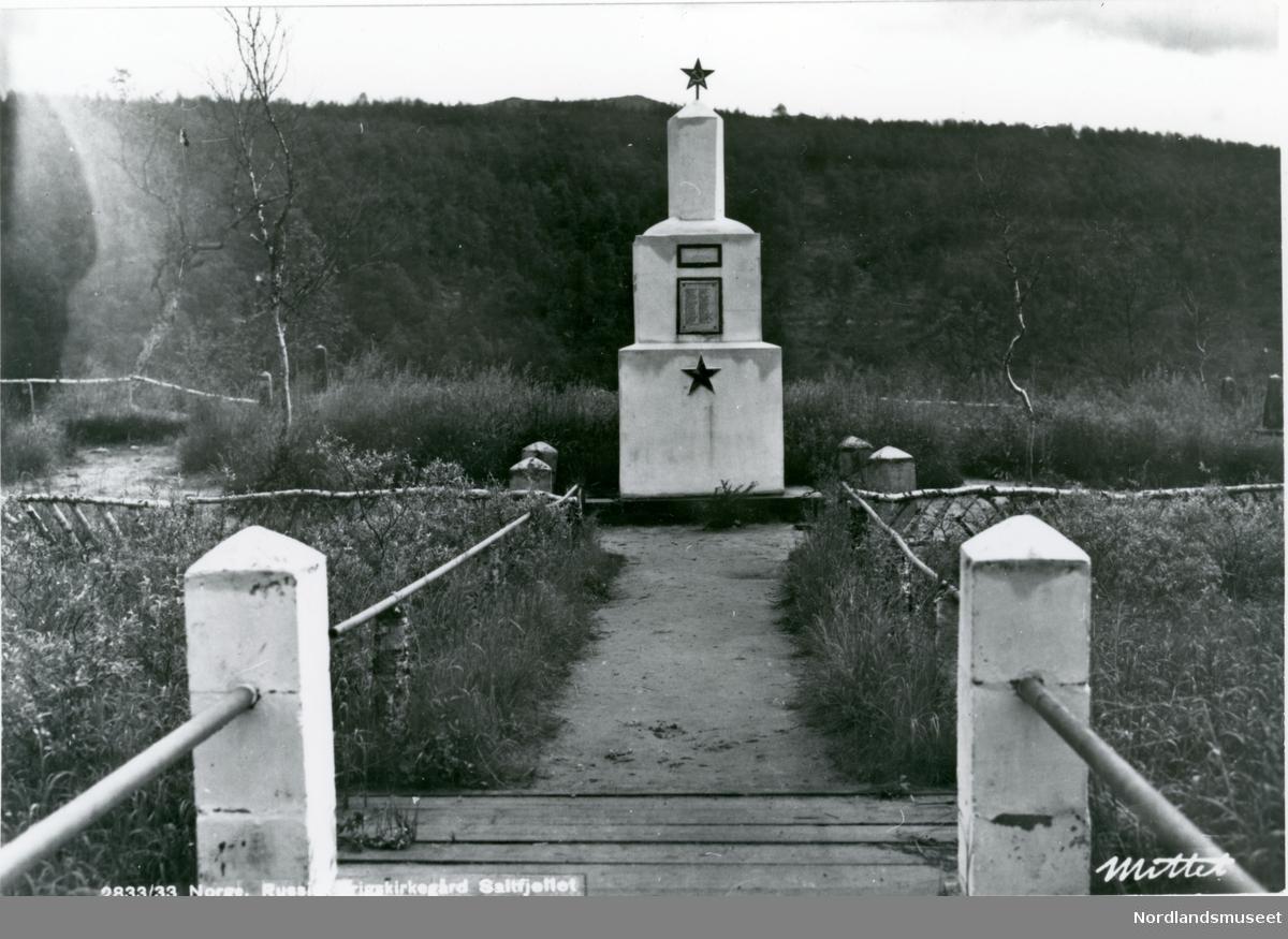 RUSSISK KRIGSKIRKEGÅRD. MONUMENT. PROSPEKT.