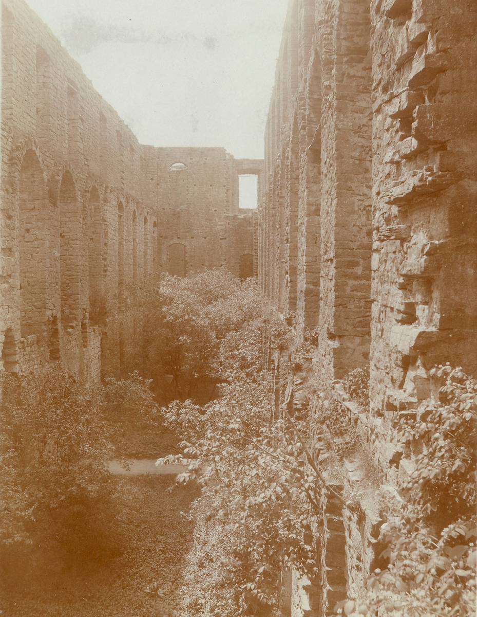 Borgholms slottsruin 1916.