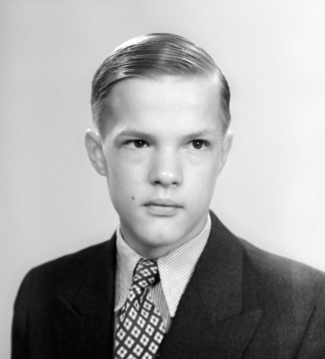 Gustav Lagerby, Gävle. Foto midsommarafton 1950.