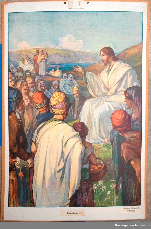 Motiver hentet fra bibelen: det gamle og det nye testamentet.