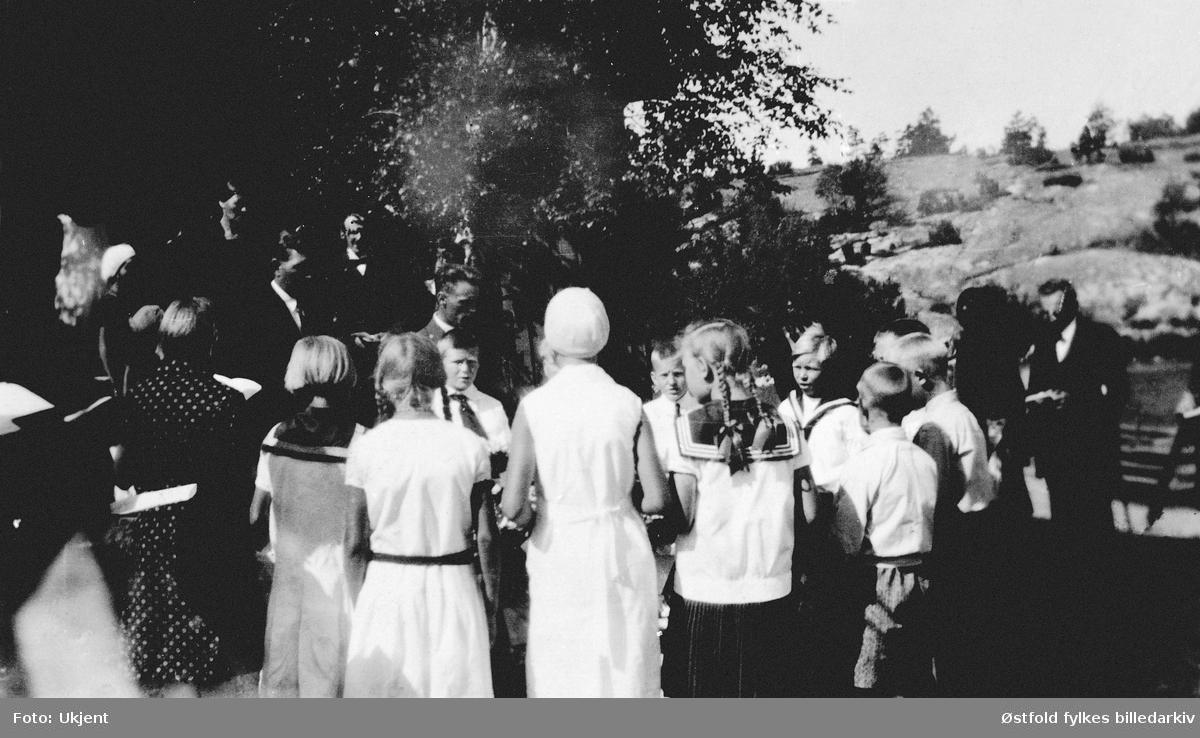 Begravelse på Rådalen i Rolvsøy 1930- Død: Inger 7-8 år gammel.