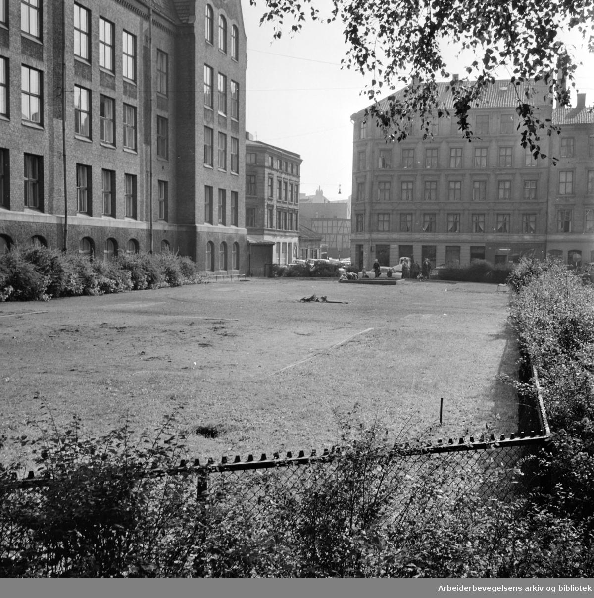 Sukkerhusgata. September 1964