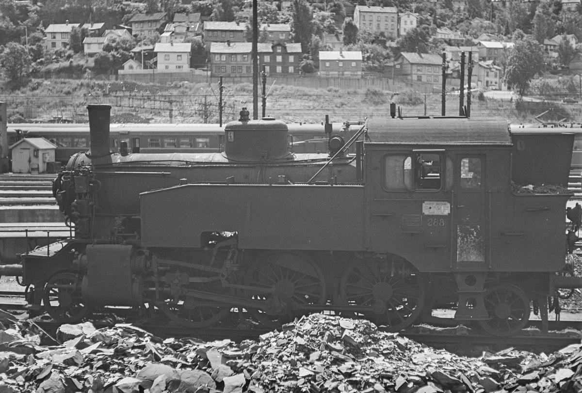 Damplokomotiv type 32anr. 288 i Lodalen i Oslo.