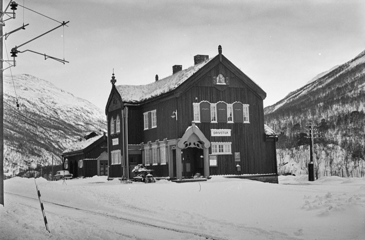 Drivstua stasjon på Dovrebanen.