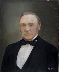 Portrett av  Chr. F. Platou [Maleri]