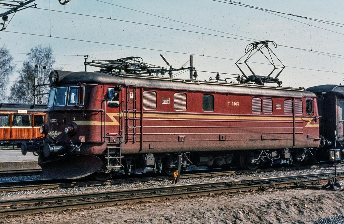 Elektrisk lokomotiv type El 11 2103.