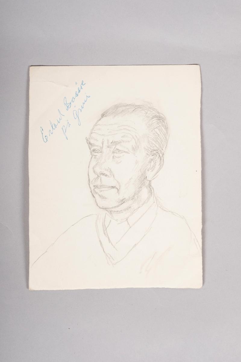 Portrett av f. nr. 17585, Erland Bassøe