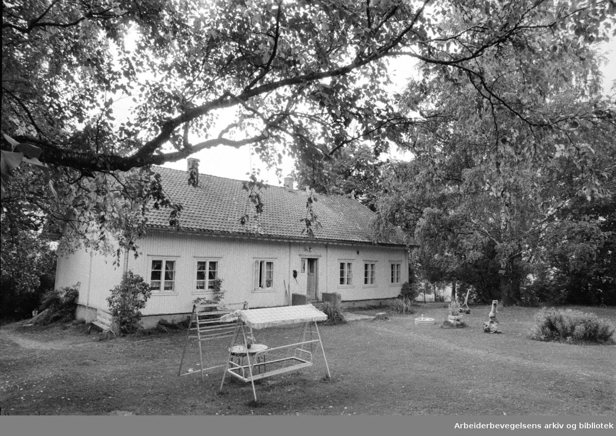 Årvoll gård. September 1971