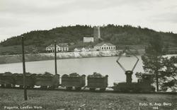 Kistog fra Fagerlia, Løkken Verk, Meldal, Sør-Trøndelag.