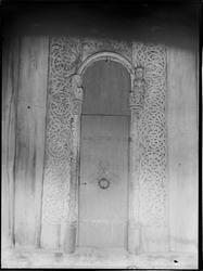 Heddal Kirke, treskjæring