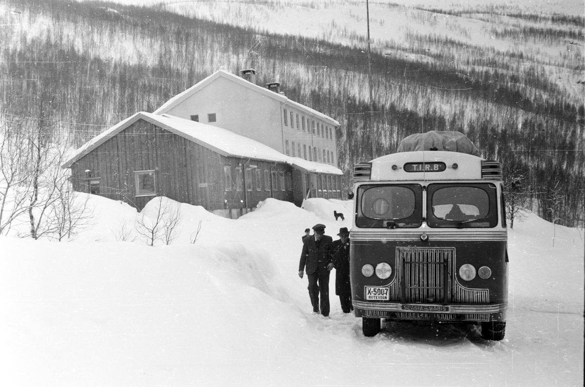 Ved Barduelva,november 1951