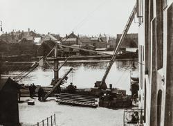 Risøy sett mot vest, ca. 1920.