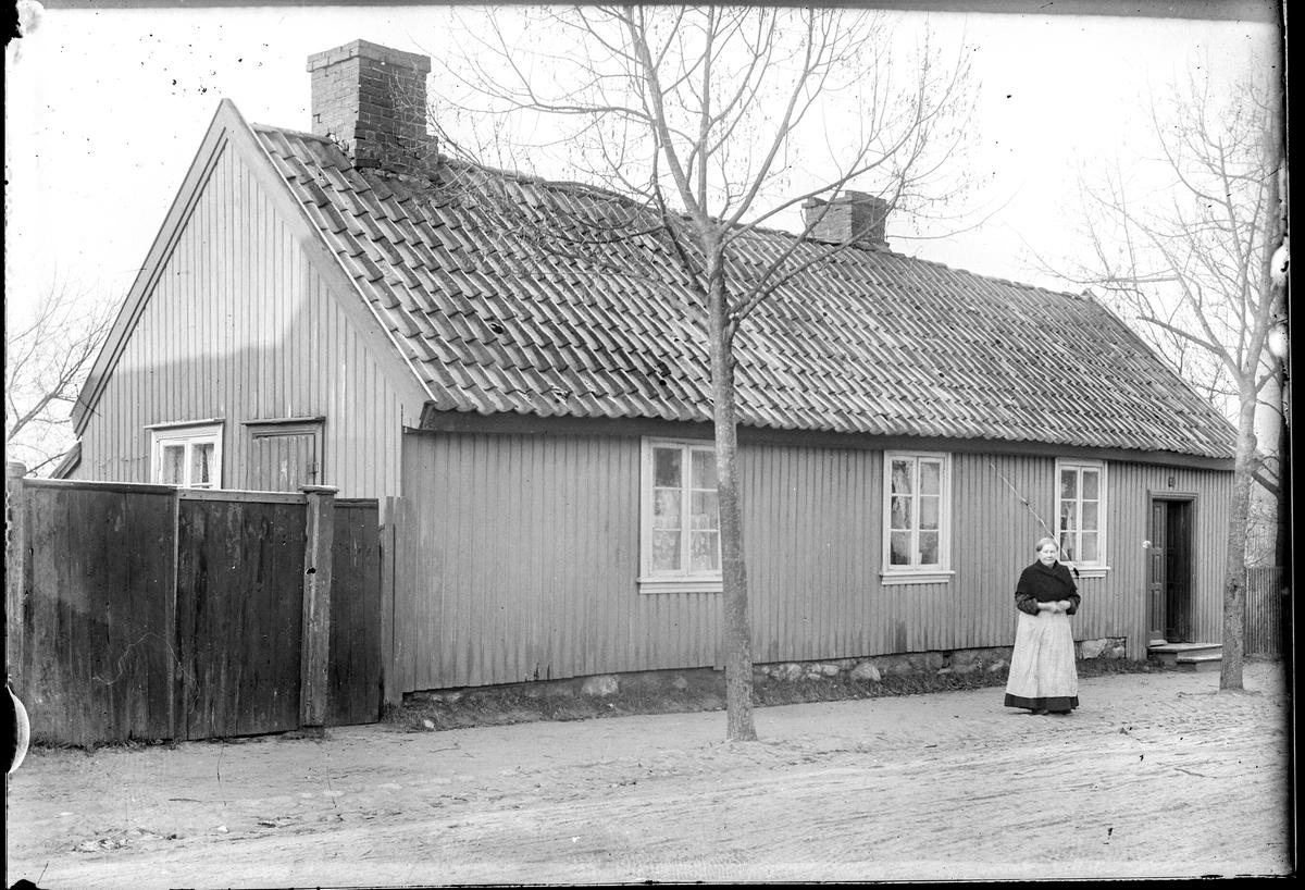 Klostergata 31, tidligere Klostergata nr. 25 i Moss. Bygningen lå i krysset Klostergata/Repslagergata. Revet.