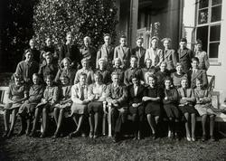 Hamar Private Middelskole 1938. Else Lang-Re, Romedal, ukjen