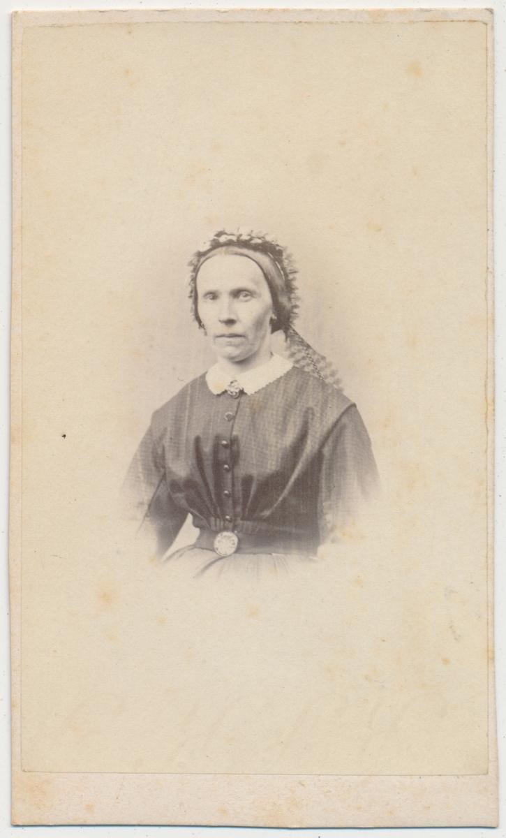 Skancke Portrett av eldre kvinne, ukjent