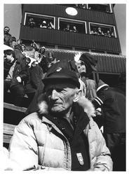 """Herman Smith Johansen. 98 år og tilskuer i """"Kollen"""""""