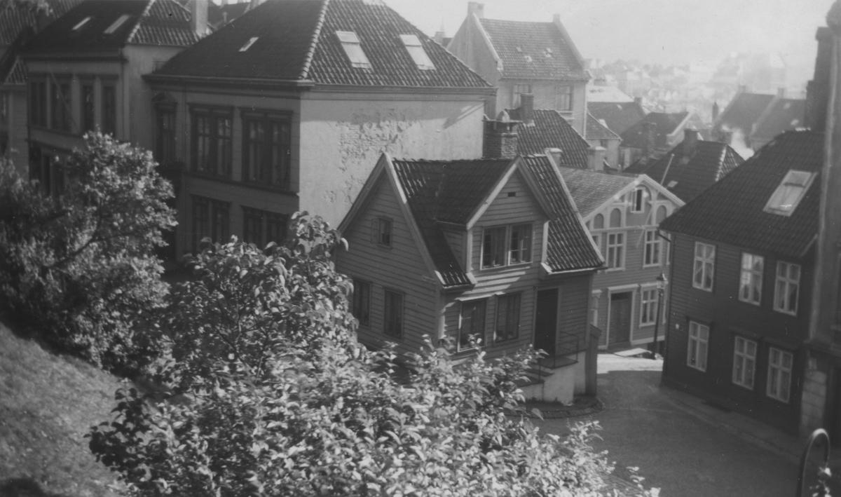 Bergen. Strangehagen, 1962. Ukjent fotograf.