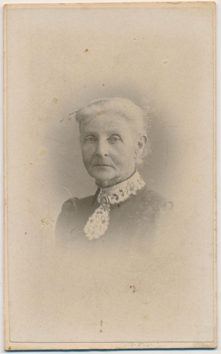 Portrett av eldre kvinne, ukjent