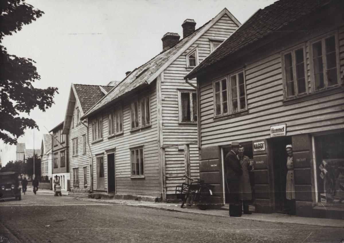 Haraldsgata sett mot nord, ca. 1935.