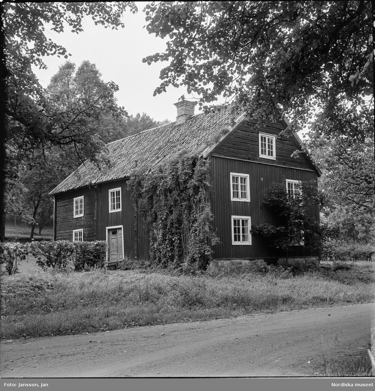 Djursnäs, herrgård, exteriör, Ösmo socken, Södermanland.