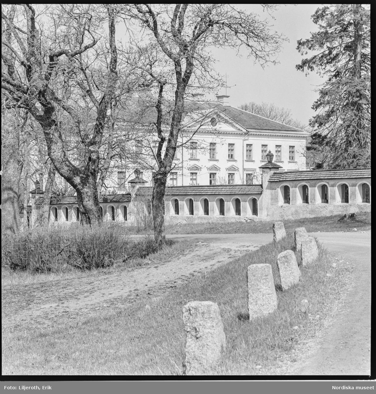 Ökna, herrgård, exteriör, Floda socken, Södermanland.