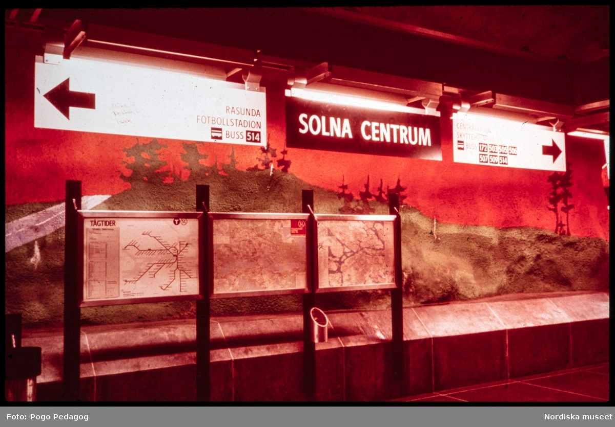Landstransport, tunnelbana