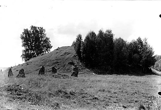 Anundshög. Gravhög samt skeppssättning III, Långby, Västerås.