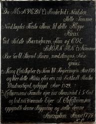 Stemsrud gård 1779 [Maleri]