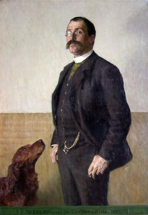 Maleren Eilif Peterssen [Maleri]