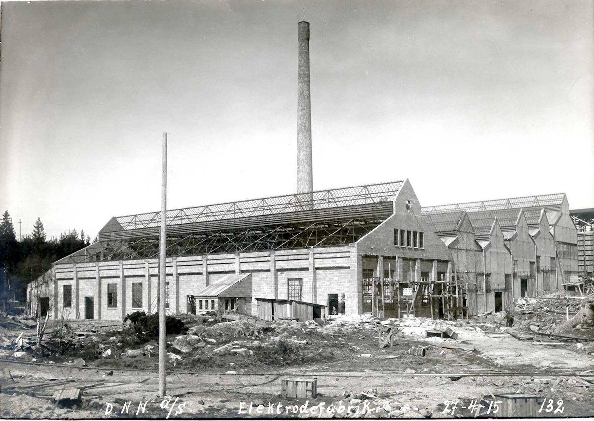 """27/04-1915"" Nitriden. Elektrodefabrikken."