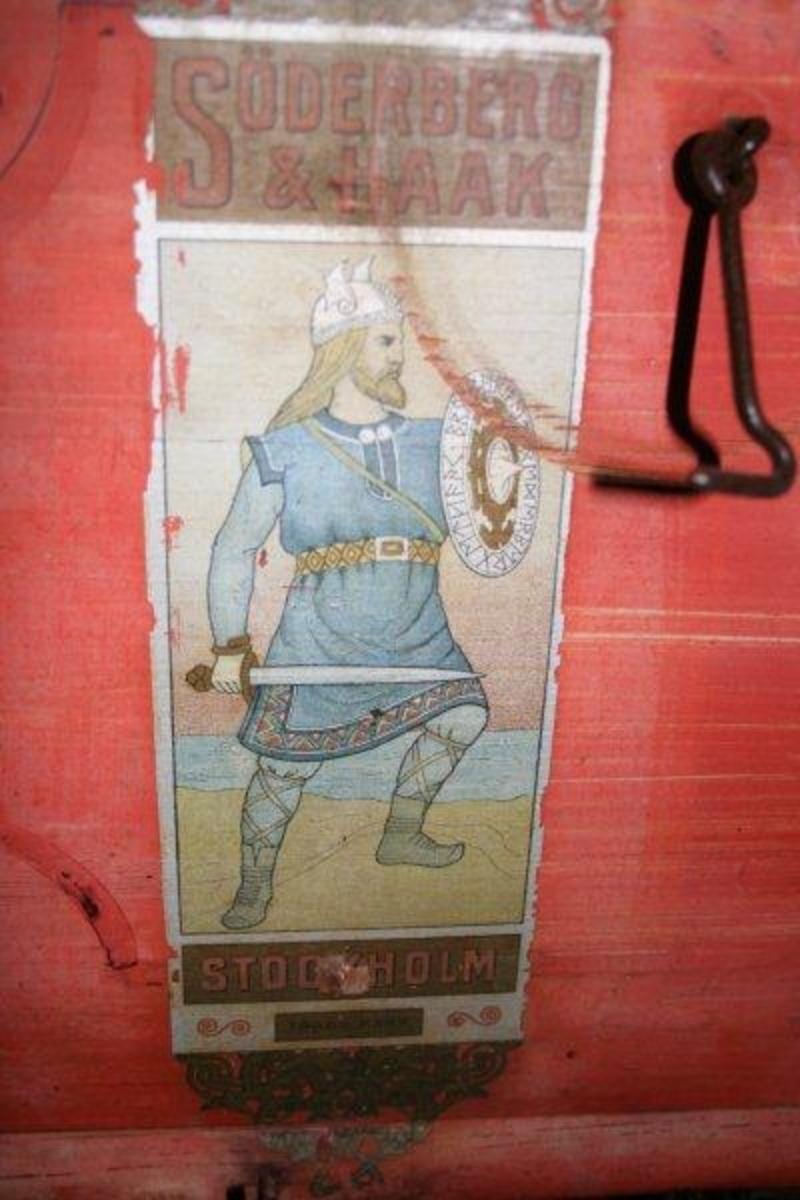 Fabrikkmerke med viking