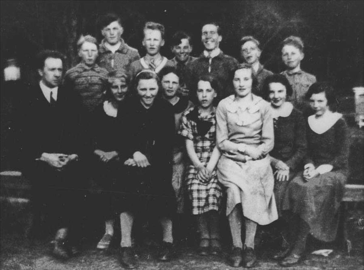 7. klasse 1935.