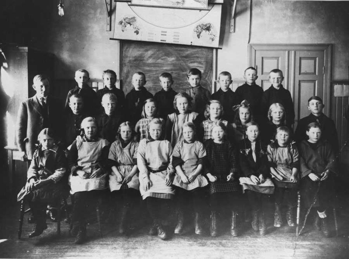 5. klasse 1925 Kontra skole