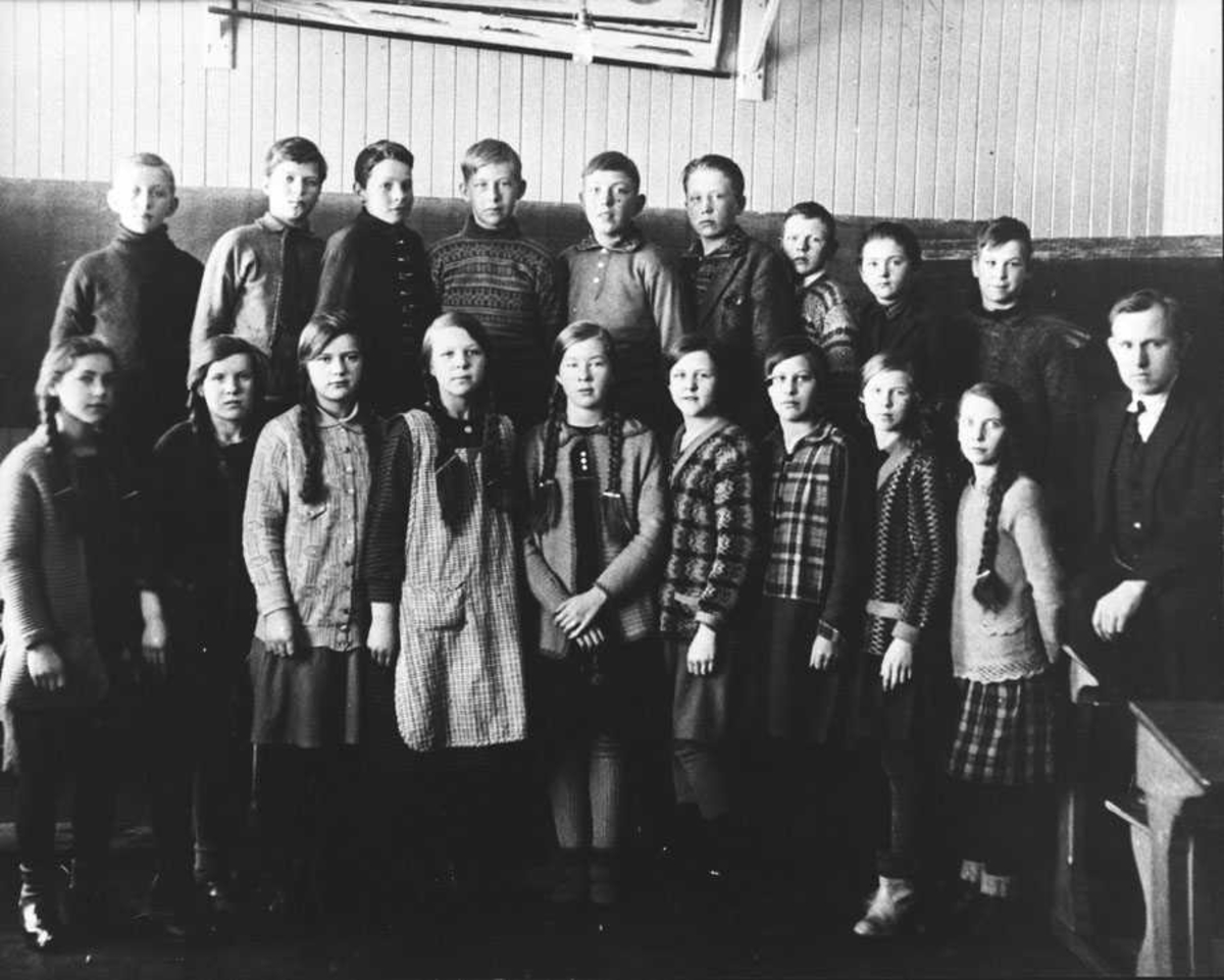 Klassebilde Kontra skole